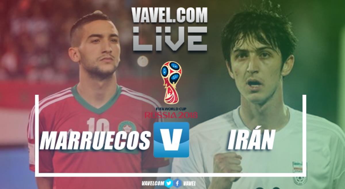 Resumen Marruecos 0-1 Irán en Mundial Rusia 2018