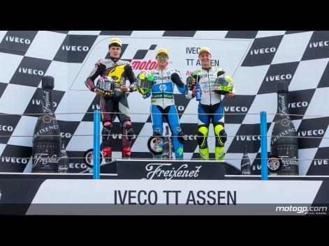 Moto 2 : Espargaro s'impose une fois de plus à Assen