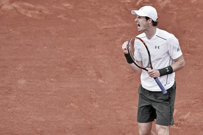 Andy Murray passa sufoco novamente, mas avança em Roland Garros