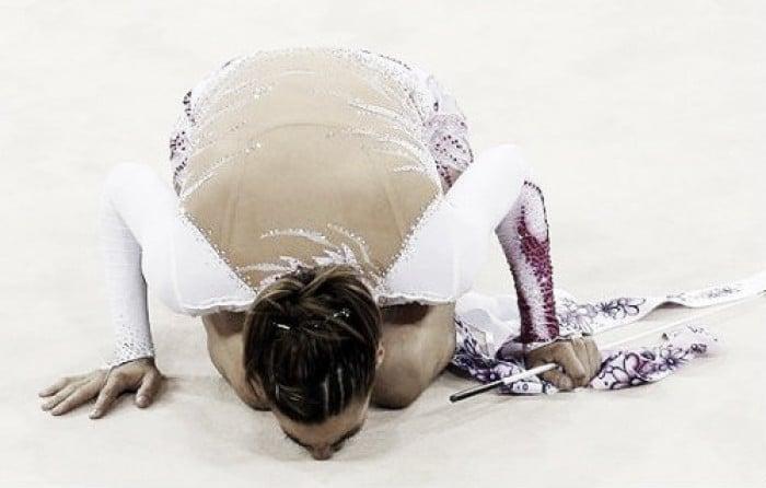Gimnasia Rítmica Río 2016: Almudena Cid, el beso final