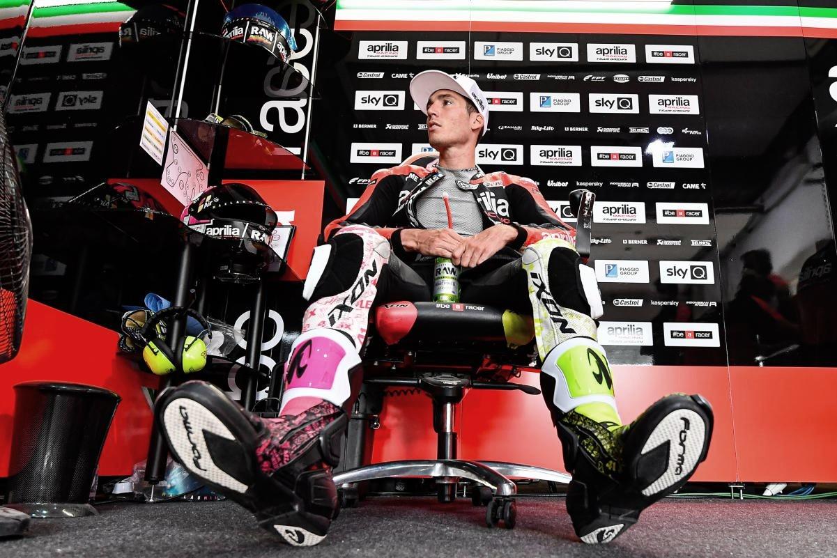 Aleix Espargaró lider la FP1 de MotoGP