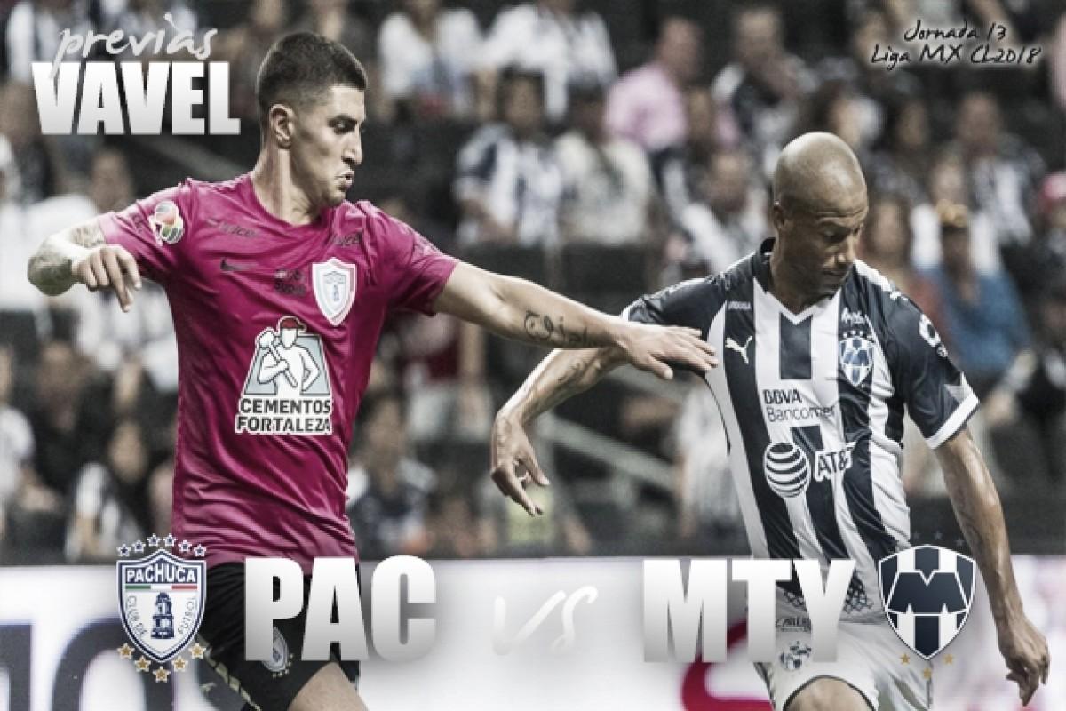 Previa Pachuca - Monterrey: partido de oro para los Tuzos