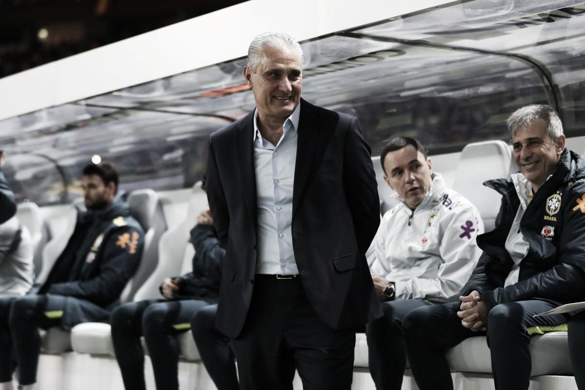 Tite destaca Brasil sem Neymar e diz que jogo contra Alemanha resgata orgulho