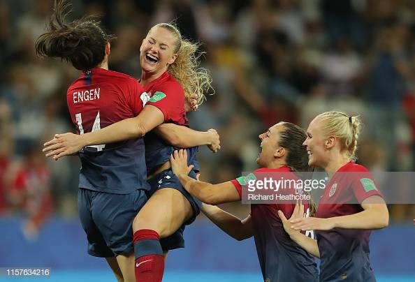 Women's World Cup: Norway 1(4)-1(1) Australia