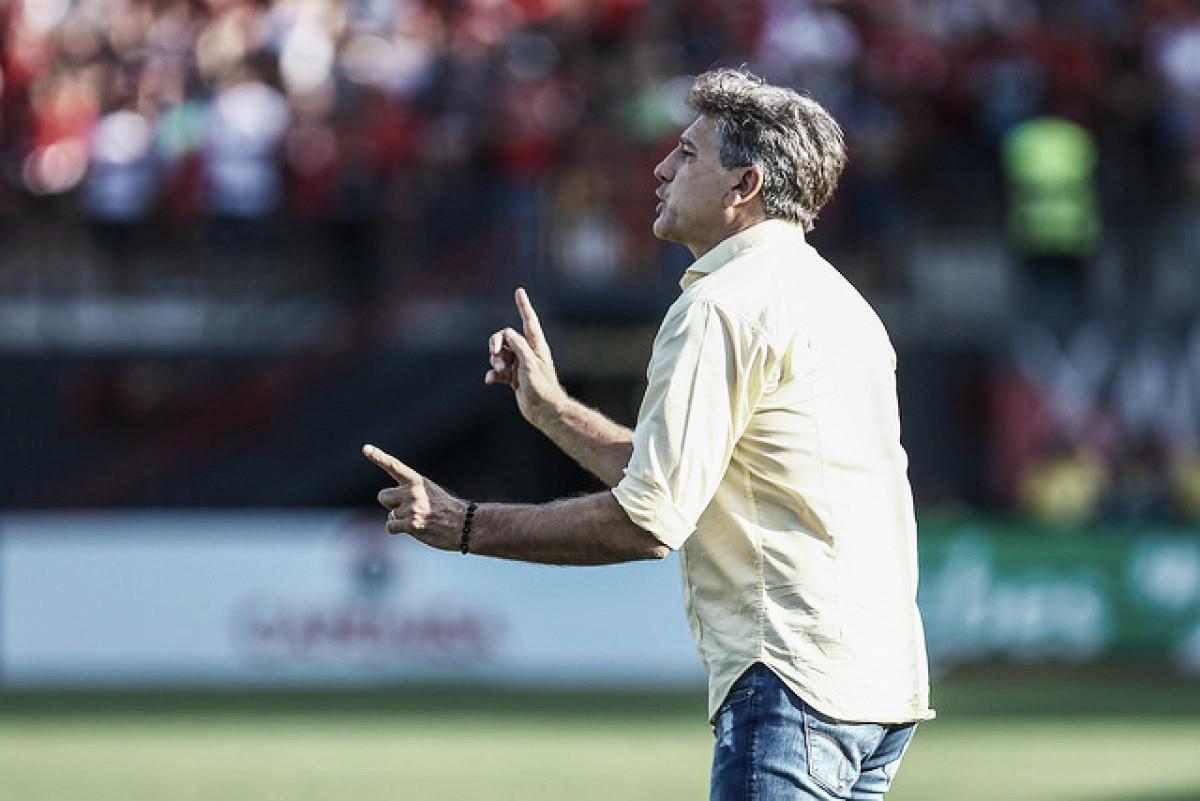"""""""Eu ficarei"""", disse Renato Portaluppi após conquista do Grêmio no Gauchão"""