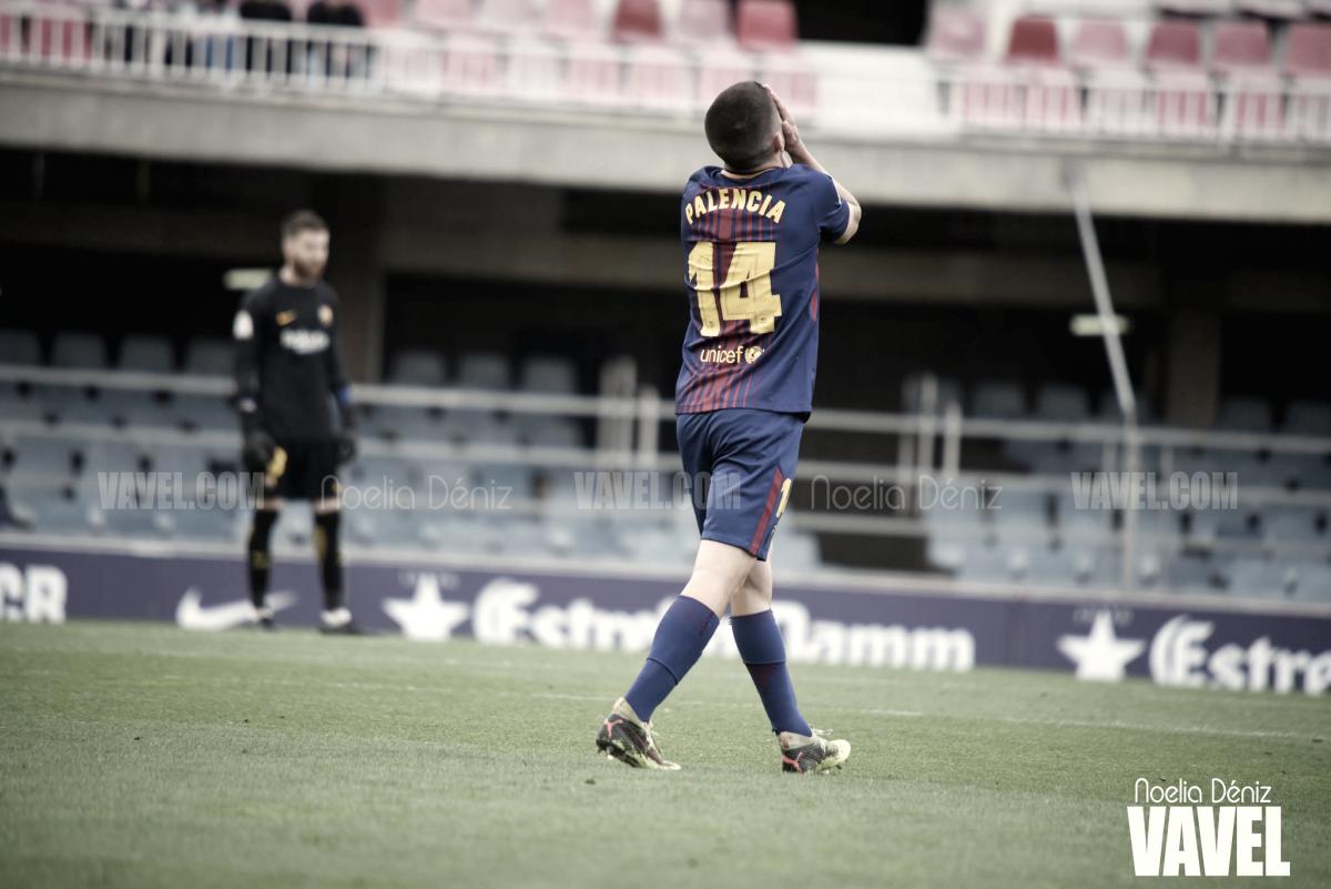 Fotos e imágenes del partido FC Barcelona B 0-1 Cultural Leonesa, jornada 34 de LaLiga 1|2|3 2018