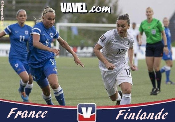 Live Qualifications Coupe du Monde féminine : France - Finlande en direct