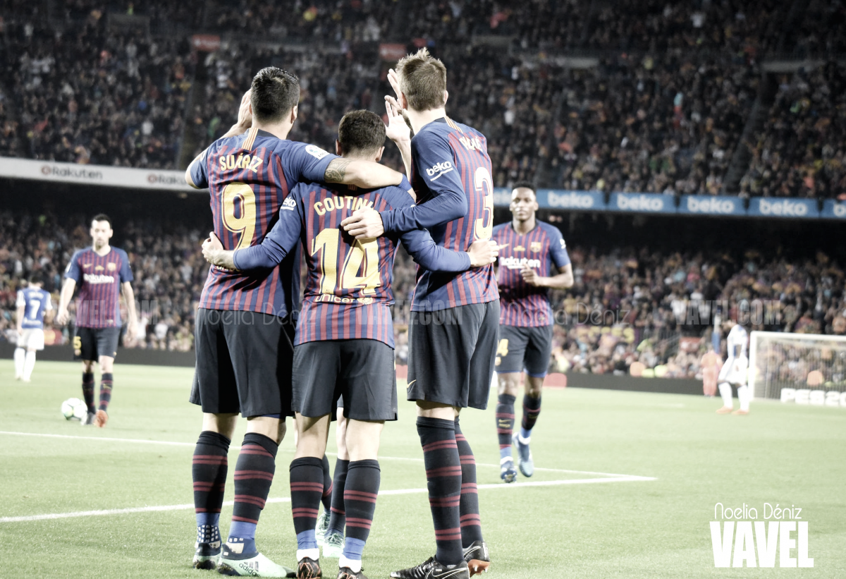 El Camp Nou continúa siendo un fortín