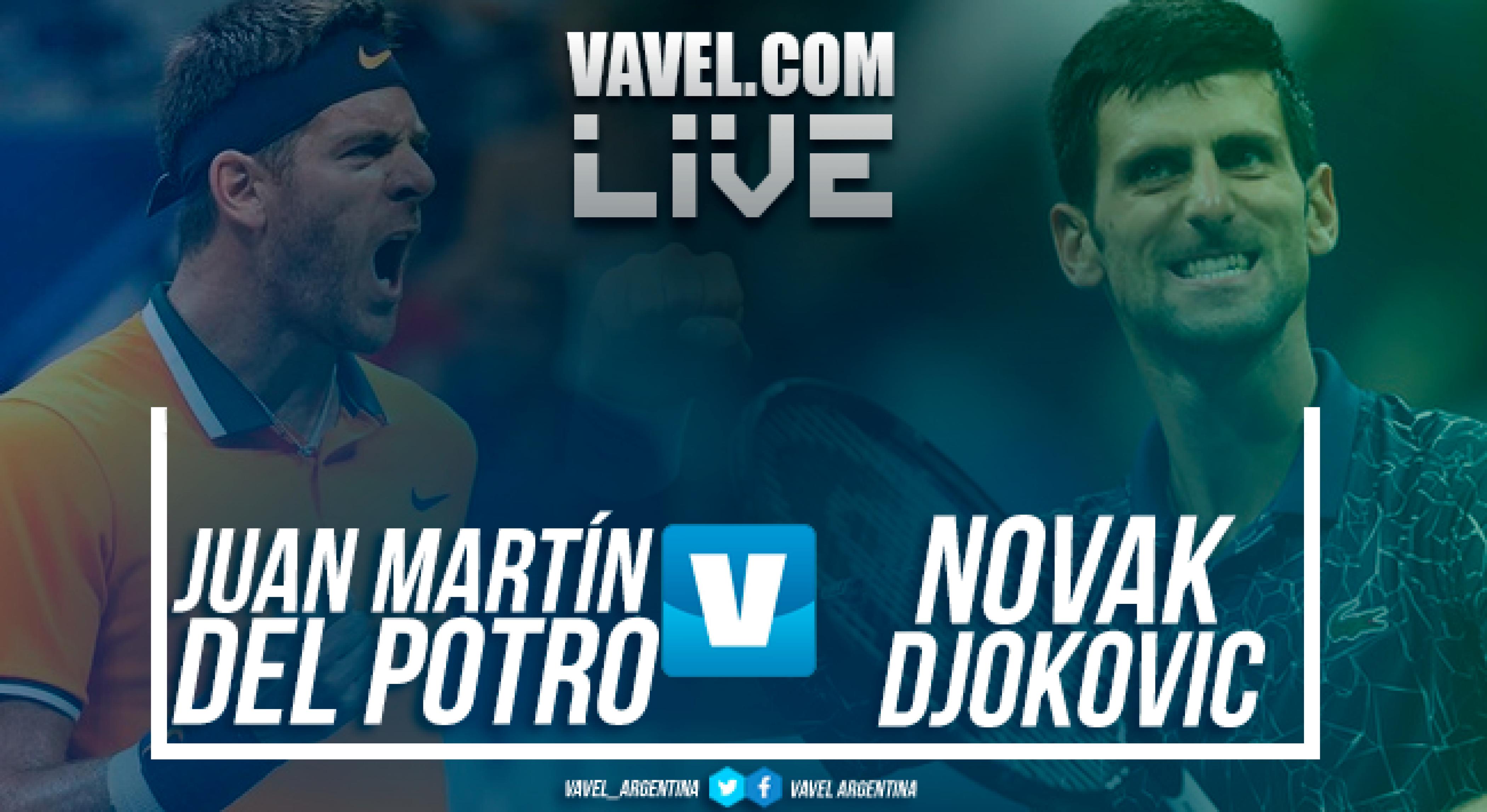 Resumen Del Potro vs Djokovic (3-6, 6-7 y 3-6)