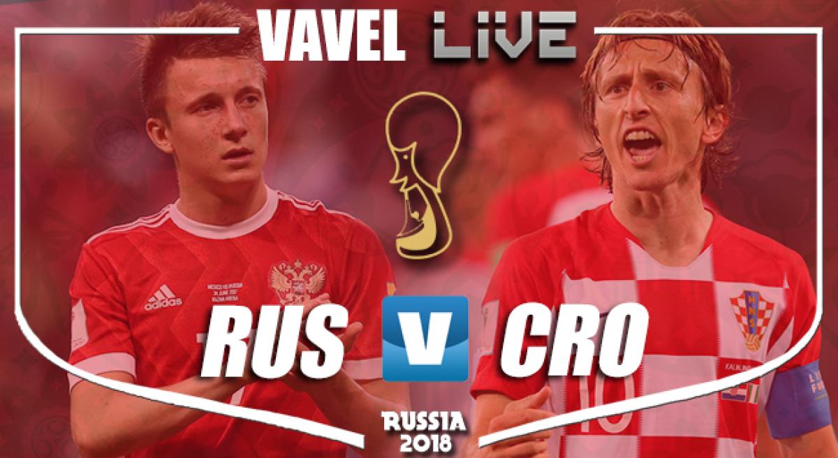 Resumen Rusia 2 (3) - 2 (4) Croacia en Mundial Rusia 2018