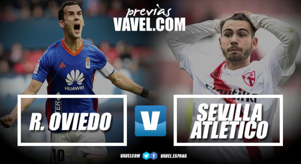 Previa Real Oviedo - Sevilla Atlético: Siguen queriendo tirar de casta