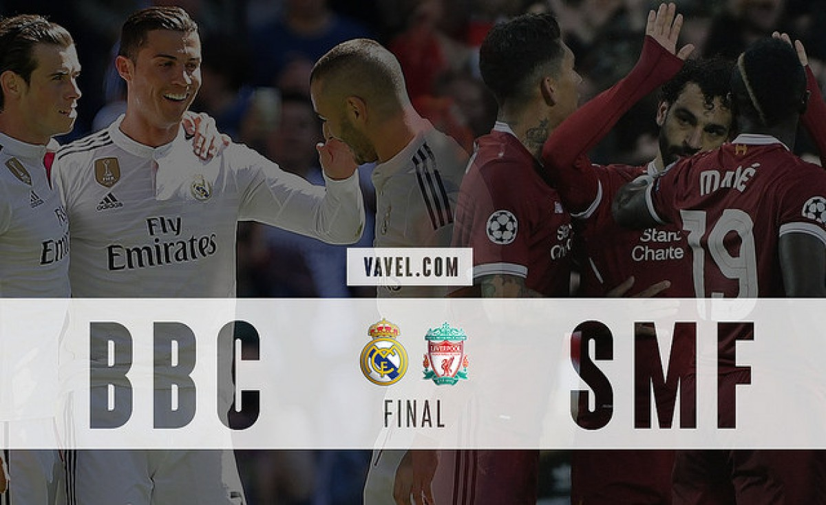 O auge do trio BBC no Real Madrid e a quebra da hegemonia ofensiva pelo SMF, do Liverpool