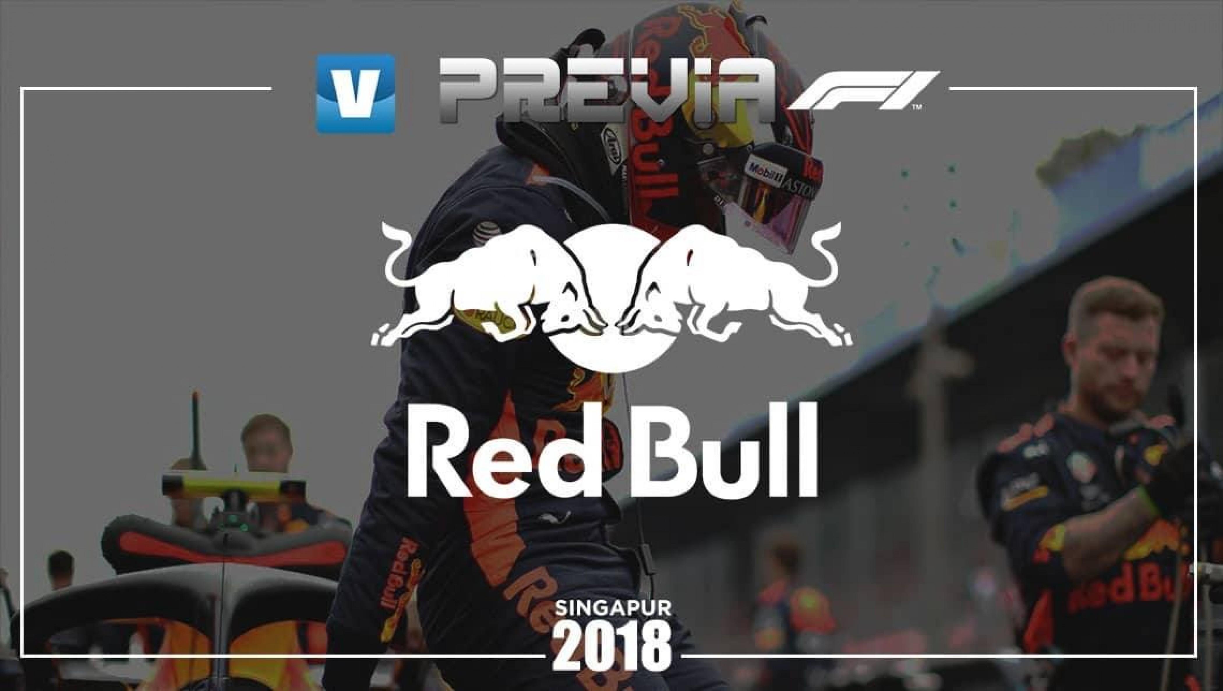 Previa Red Bull en el Gran Premio de Singapur 2018: ¿hay oportunidades para ganar la carrera?