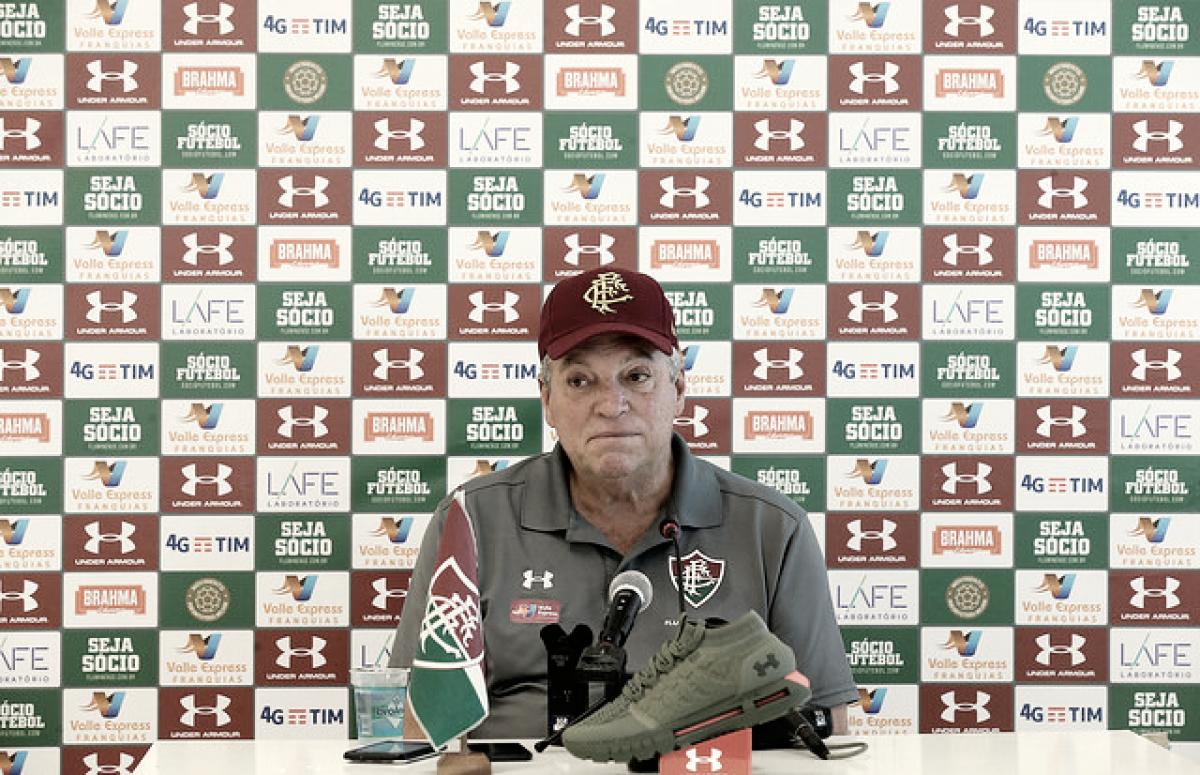"""Abel veta treino em Laranjeiras por conta de momento político do clube: """"Melhor ficar afastado"""""""