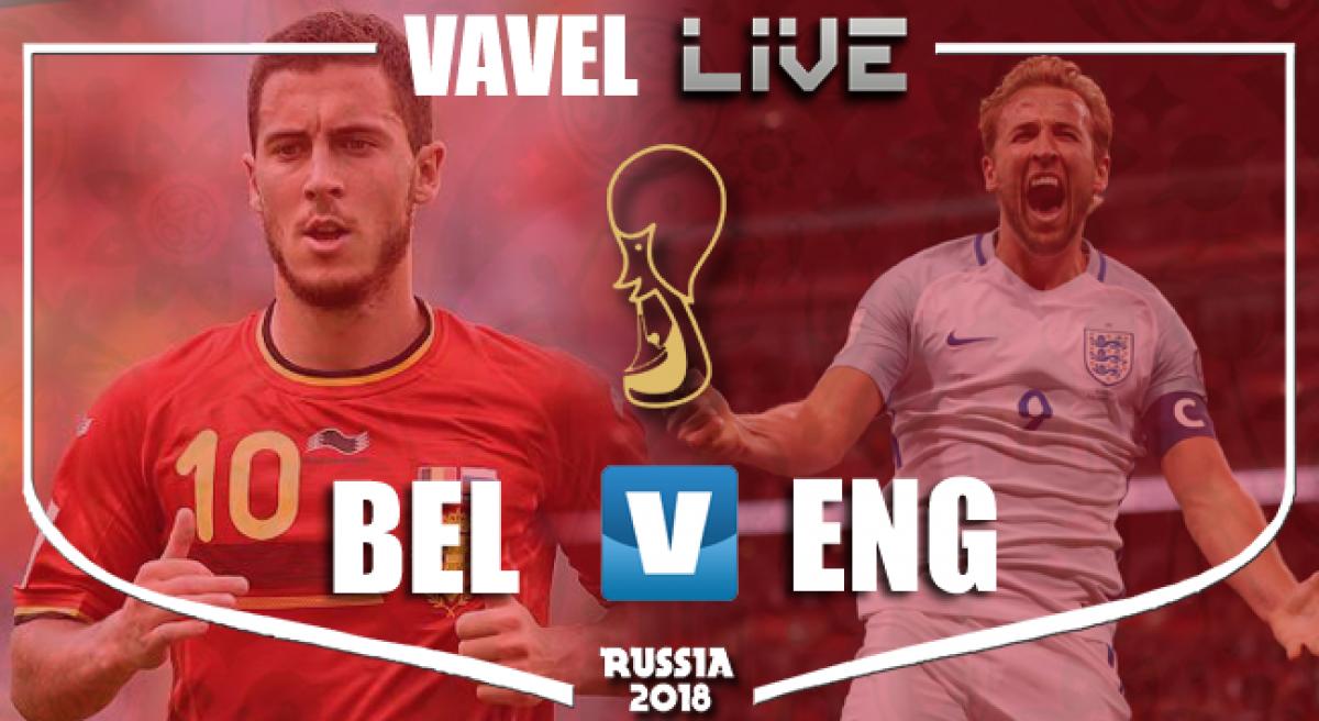Resumen Bélgica vs Inglaterra en el Mundial de Rusia 2018 (2-0)