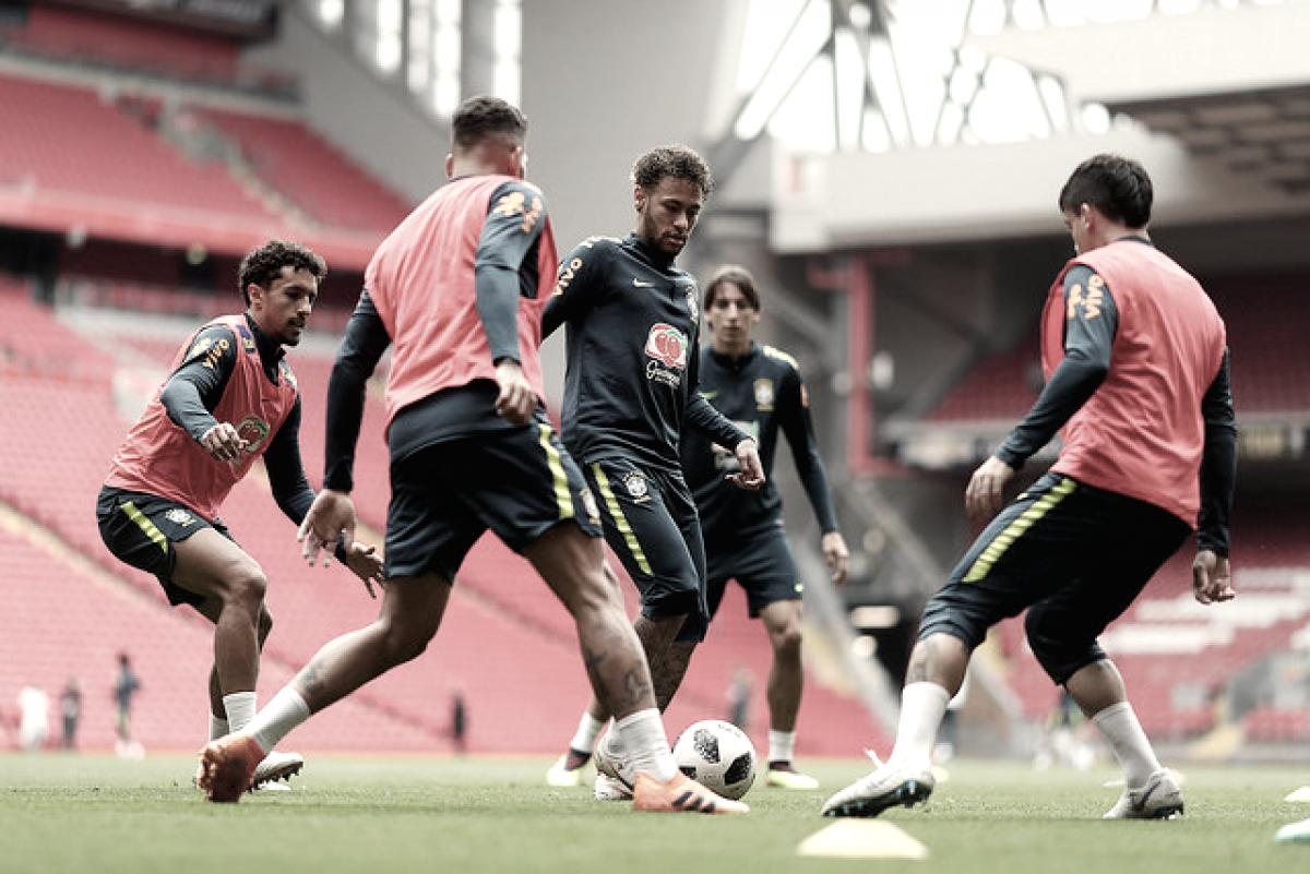 Sem Neymar, Brasil enfrenta Croácia em penúltimo amistoso antes da Copa do Mundo