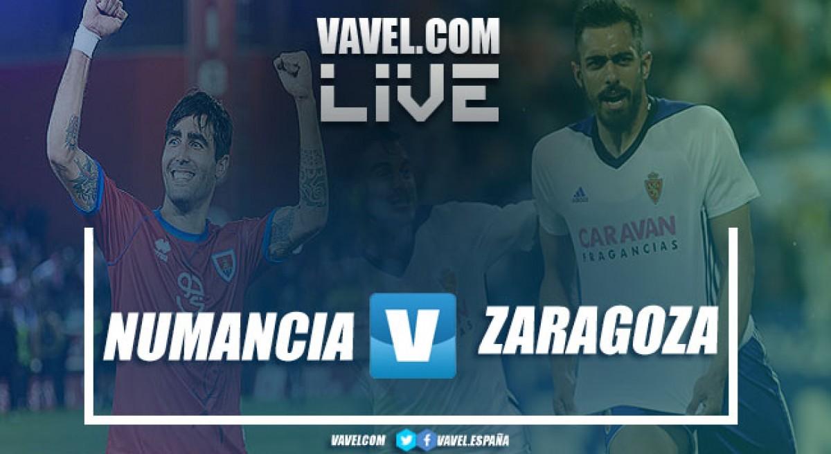 Resumen Numancia 1-1 Real Zaragoza en playoff de ascenso a Primera División 2018