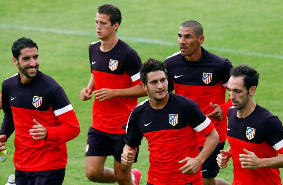 La afición del Atlético de Madrid respalda la convocatoria de Simeone