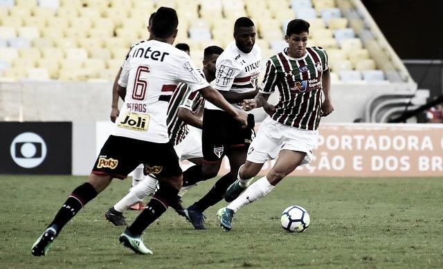 Fluminense e São Paulo duelam em situações opostas na tabela