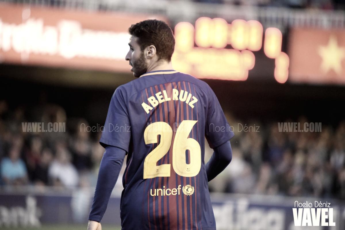 Abel Ruiz renueva con el Barça