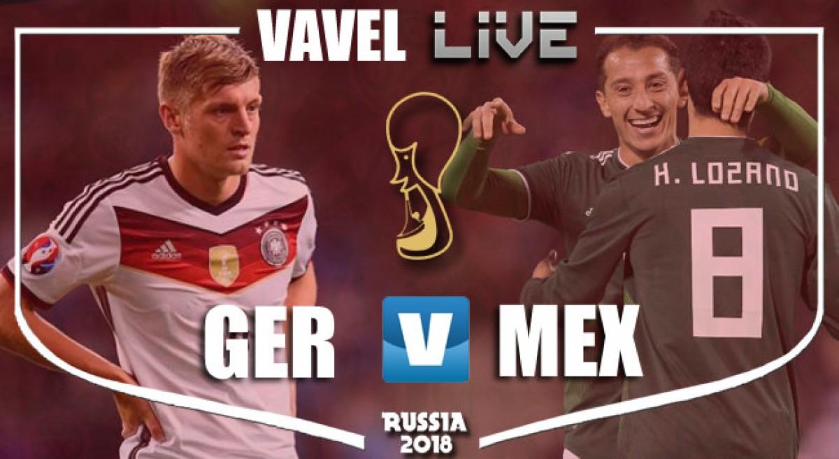 Resumen Alemania 0 vs 1 México en MUNDIAL 2018