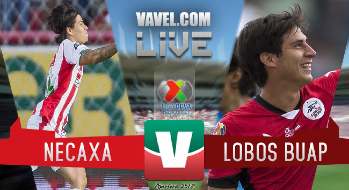 Resultado del Necaxa 1-0 Lobos BUAP en Liga MX 2018