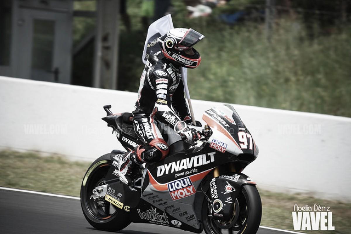 Vierge lidera en Moto2 por primera vez