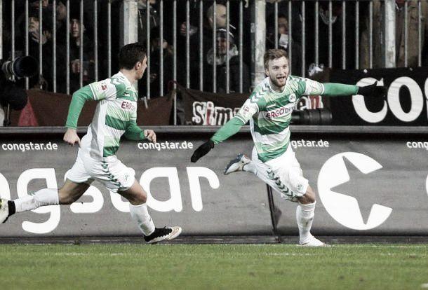 St. Pauli 0-1 Greuther Fürth: Kleeblätter secure a much needed victory