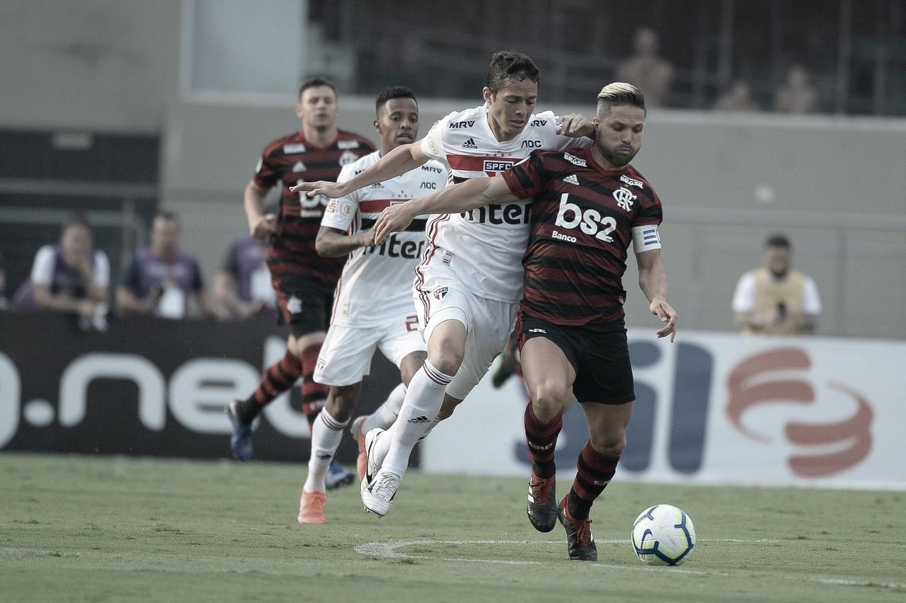 Com reservas, Flamengo empata com São Paulo jogando no Morumbi