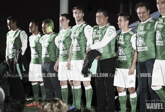 Nuevo uniforme, basado en historia del León