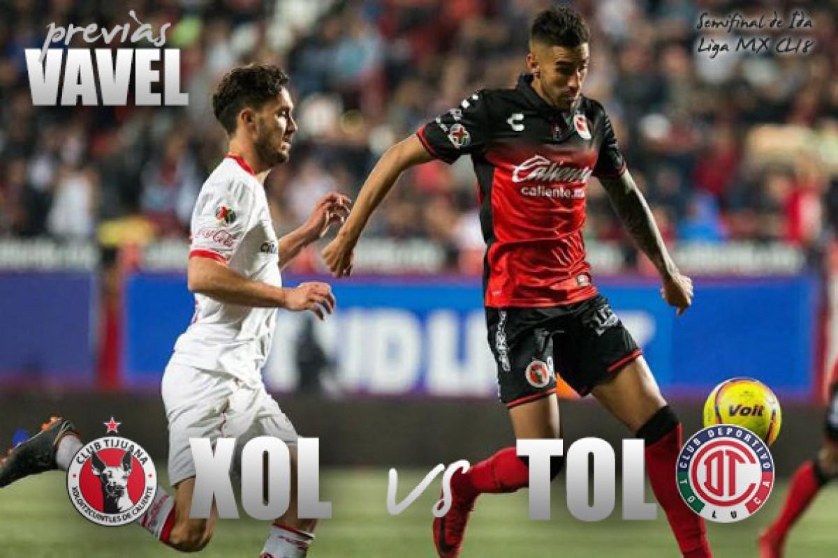 Previa Xolos Tijuana vs Toluca: Primer paso rumbo a la final