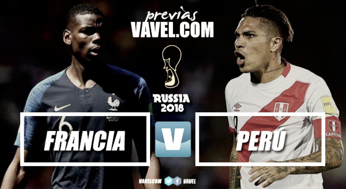 Previa Francia - Perú: futbol espectacular en Ekaterimburgo