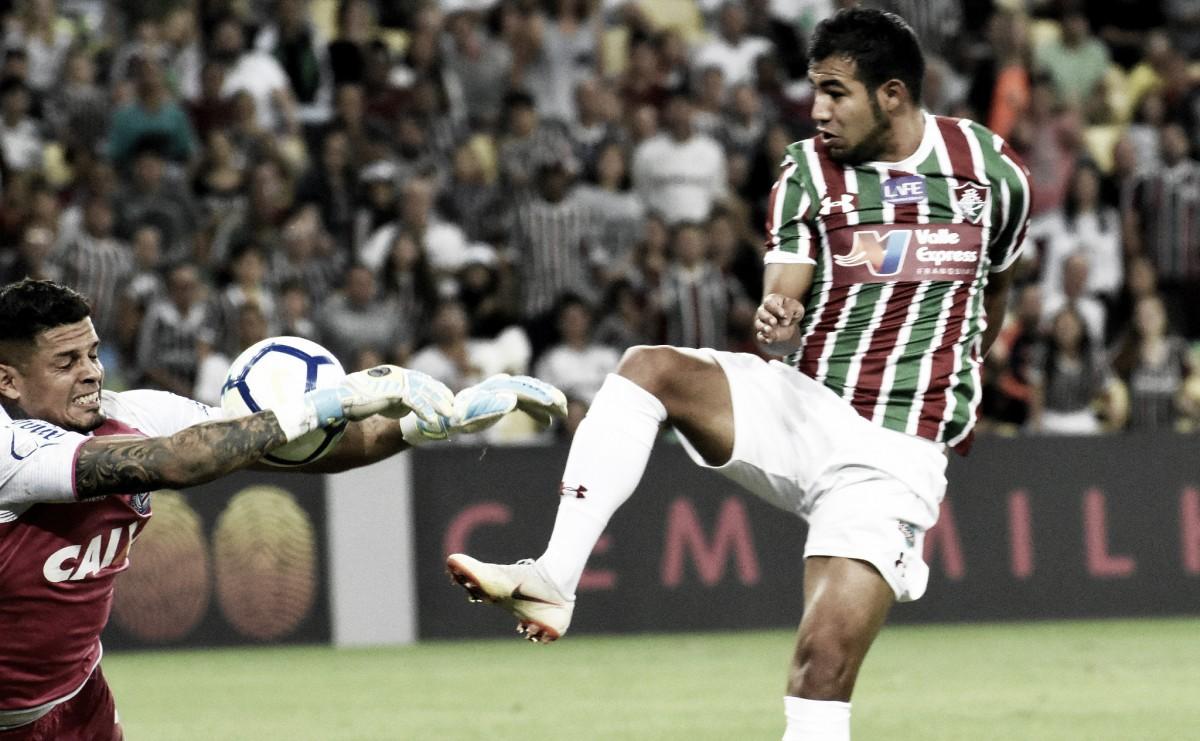 Exame aponta edema na coxa e Sornoza não tem previsão de retorno ao Fluminense