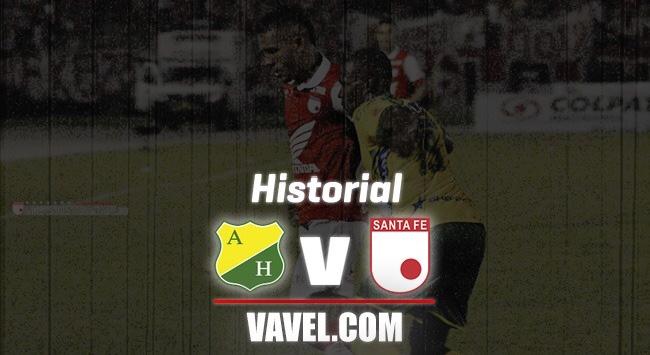 Historial, Santa Fe vs Atlético Huila: ventaja 'cardenal'