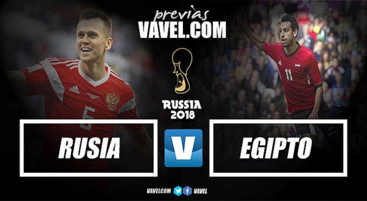Previa Rusia - Egipto: una revelación africana para la anfitriona