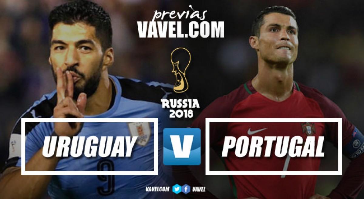 Previa Uruguay - Portugal: una lucha de defensas sólidas