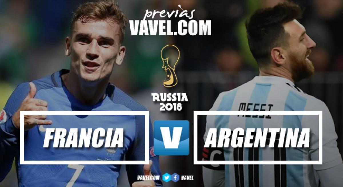 Previa Francia vs Argentina: dos potencias sin margen de error