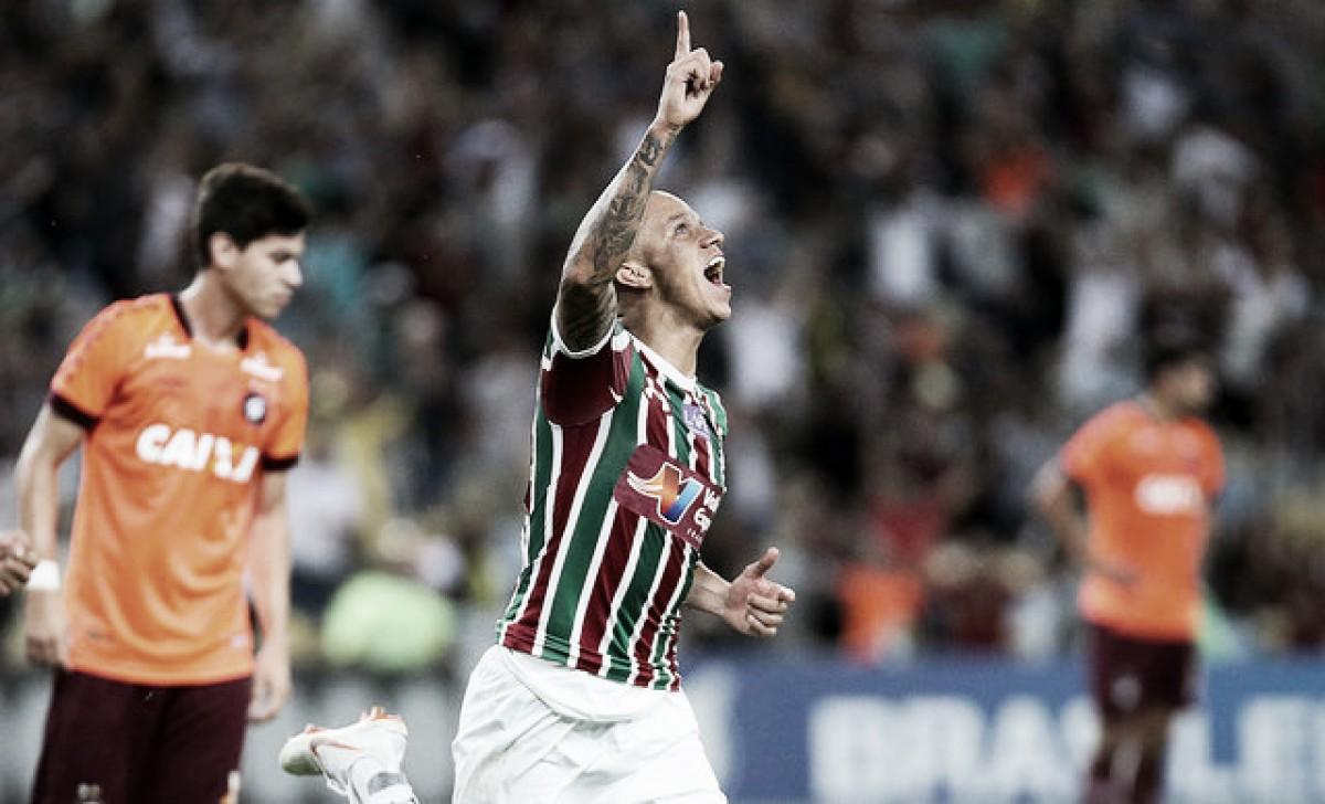 Fluminense vence no Maracanã e amplia fase ruim do Atlético-PR
