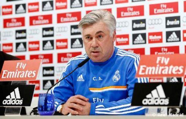 """Ancelotti: """"Mi idea de partido no cambia si juega Luis Suárez, no es mi problema"""""""