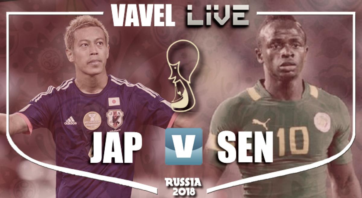 Resumen Japón vs Senegal en el Mundial de Rusia 2018 (2-2)
