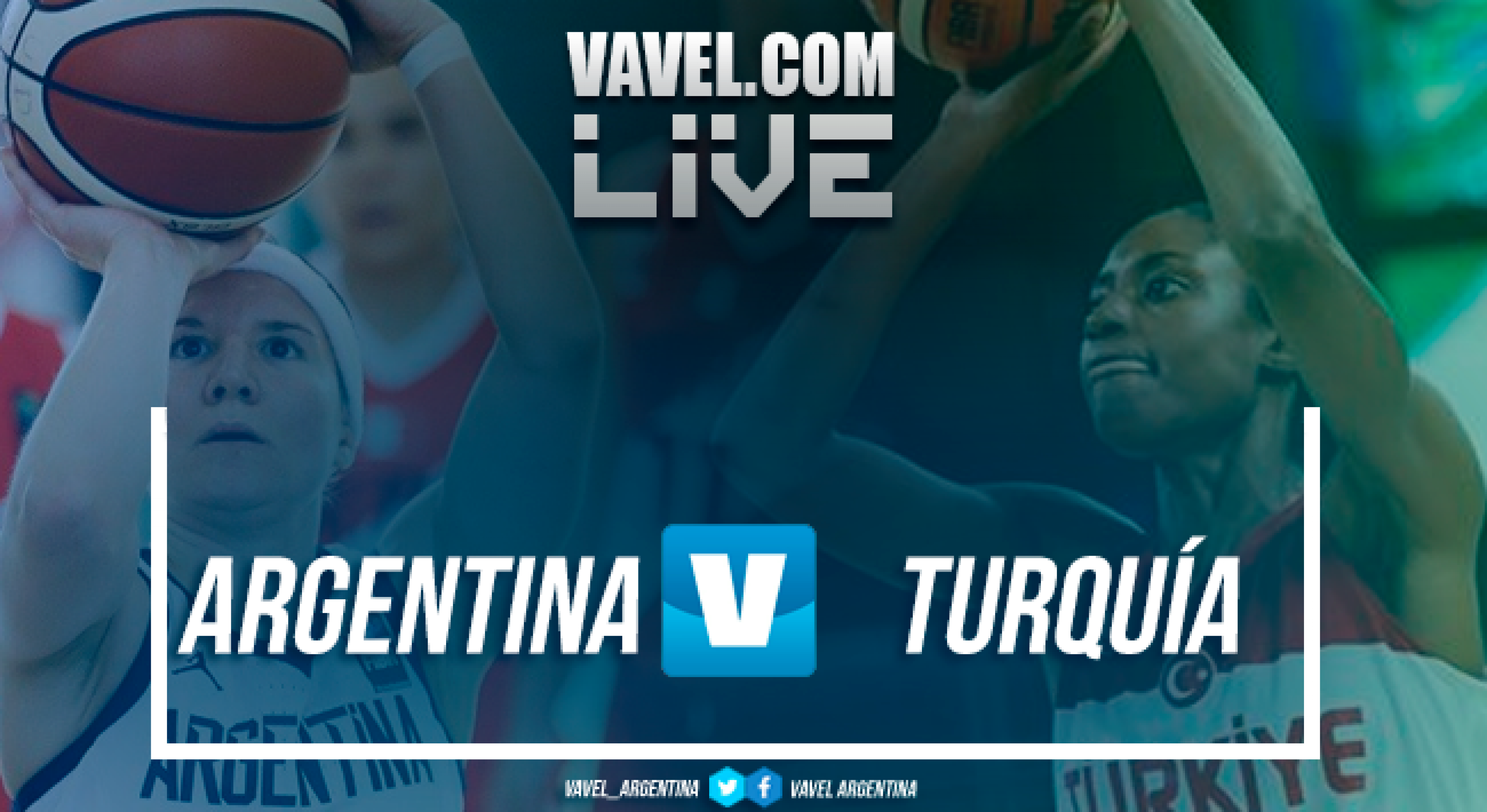 Resumen del partido: Argentina 37 vs 63 Turquía en vivo y en directo online en el Mundial Femenino de Básquet España 2018