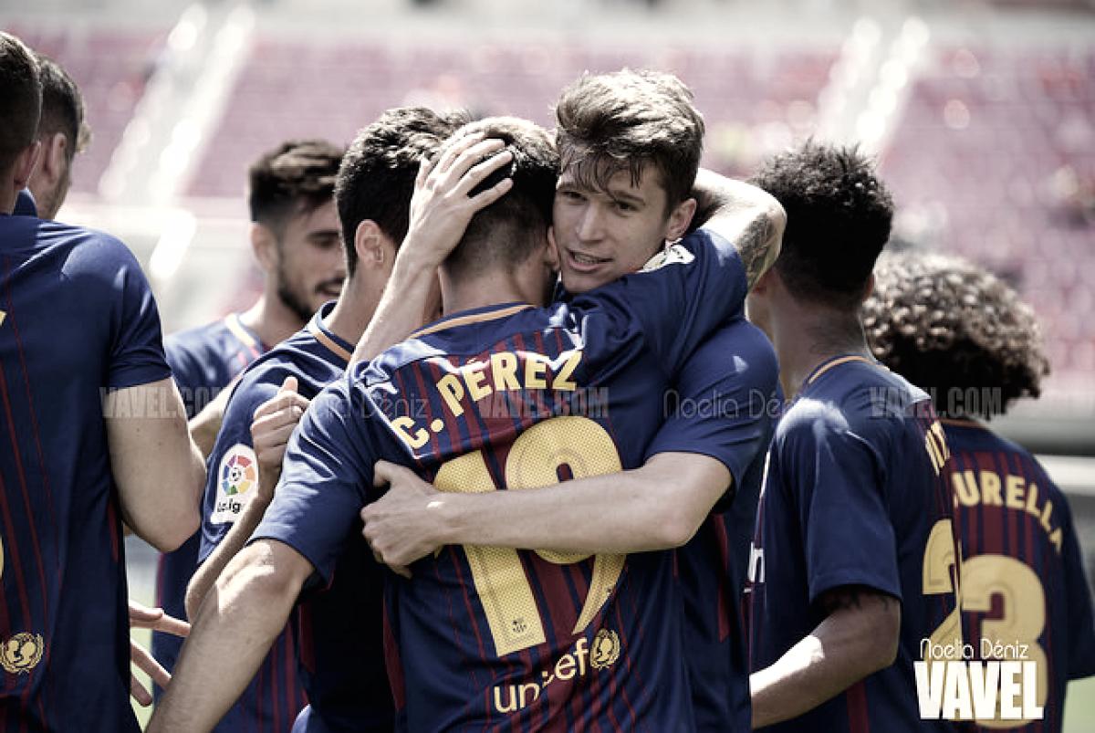 Resumen de la temporada 2017/2018: FC Barcelona B, la gloria entre el desastre