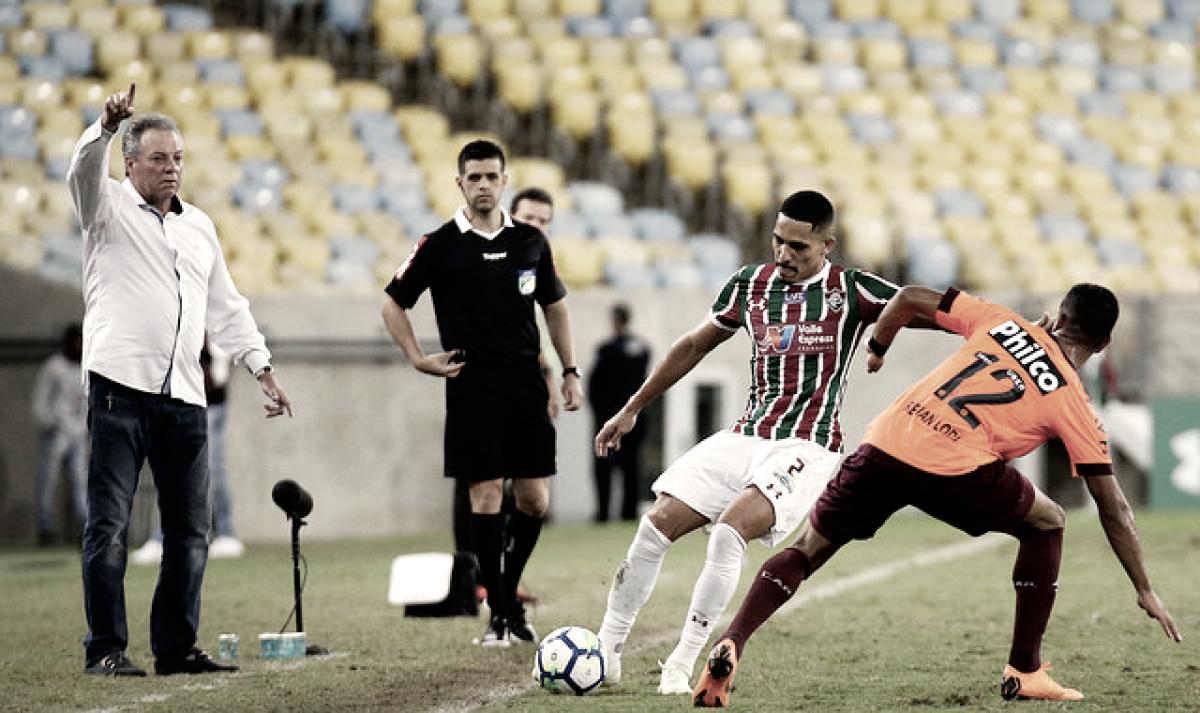 """Abel Braga elogia postura do Fluminense contra Atlético-PR: """"Fomos cirúrgicos"""""""