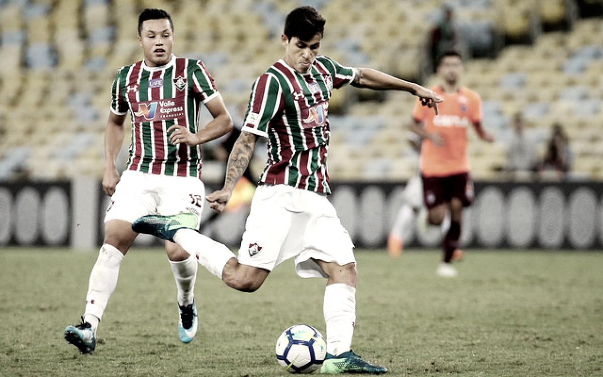 Pedro será reavaliado por departamento médico do Fluminense após sair com dores
