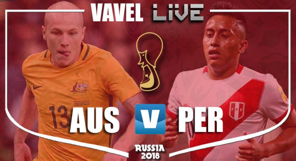 Resultado Austrália x Peru na Copa do Mundo 2018 (0-2)