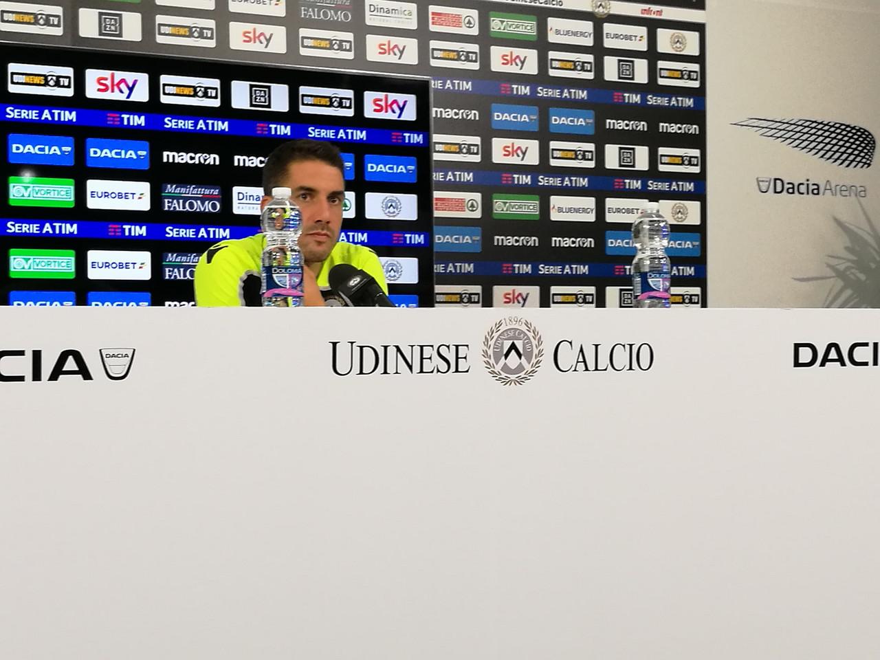 """Udinese - Velazquez: """"Sono tranquillo, conosciamo l'Empoli"""""""