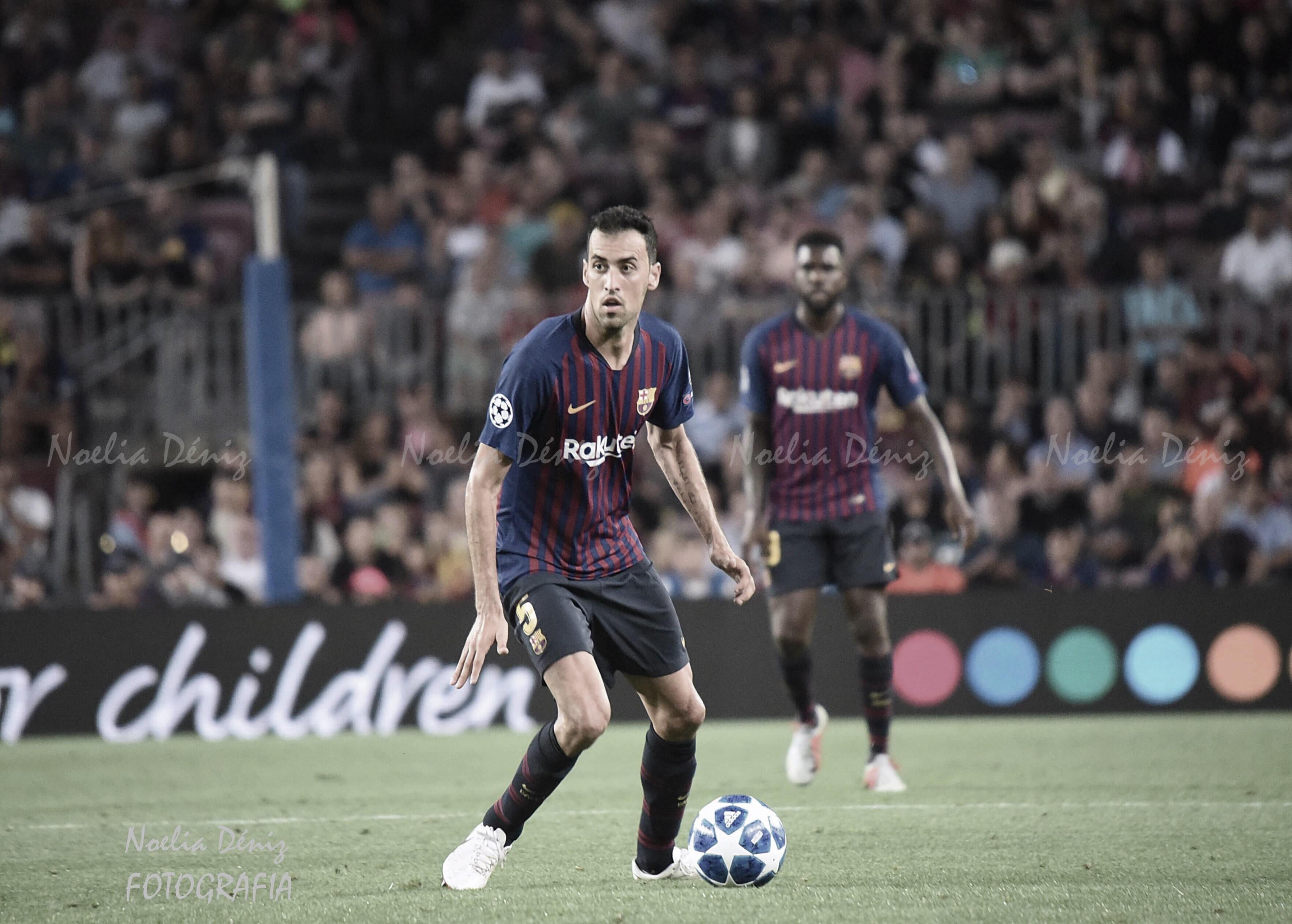 """Sergio Busquets: """"Nos hemos dejado el alma en el partido"""""""