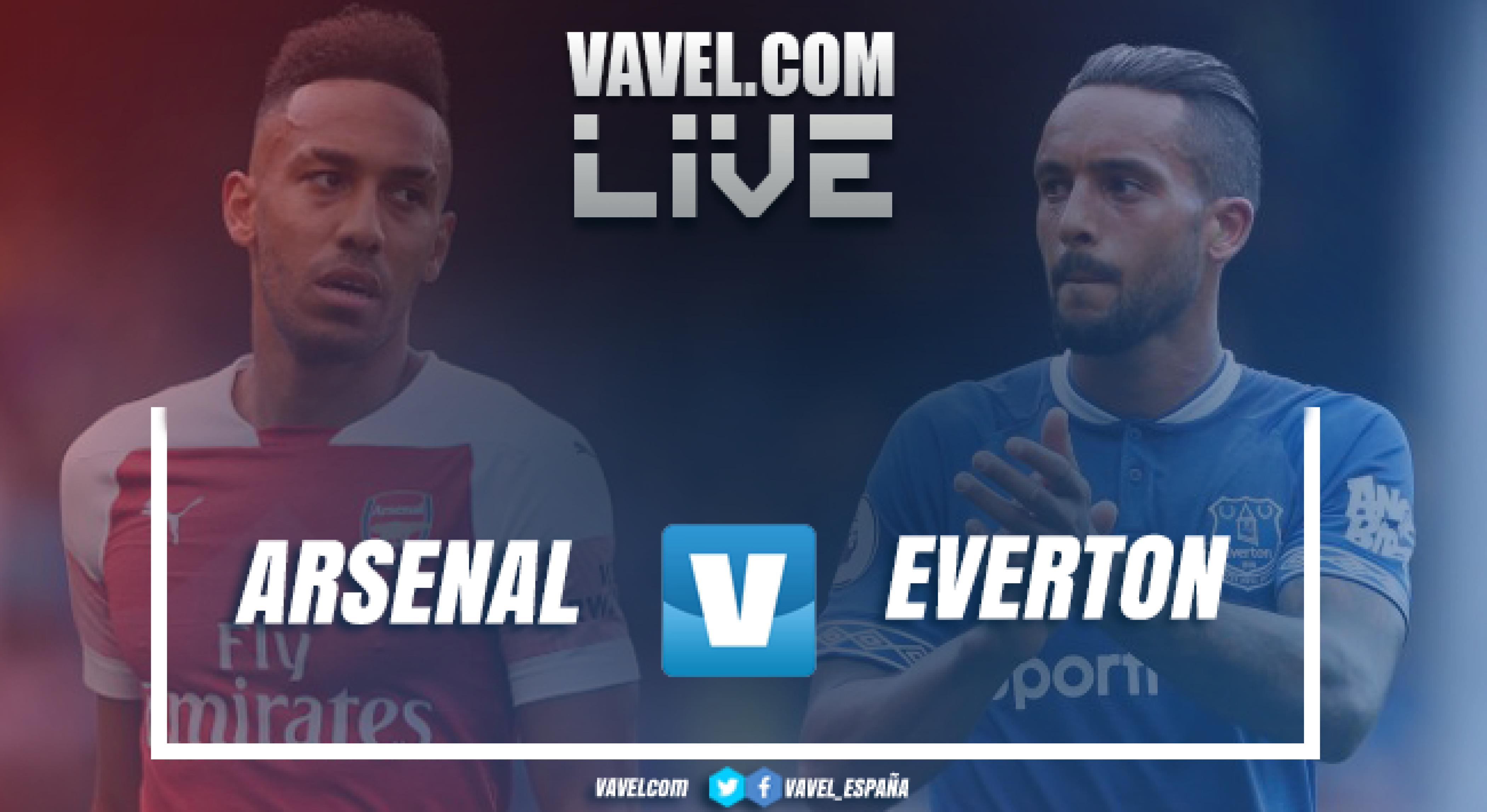 Resumen Arsenal vs Everton en Premier League 2018 (2-0)