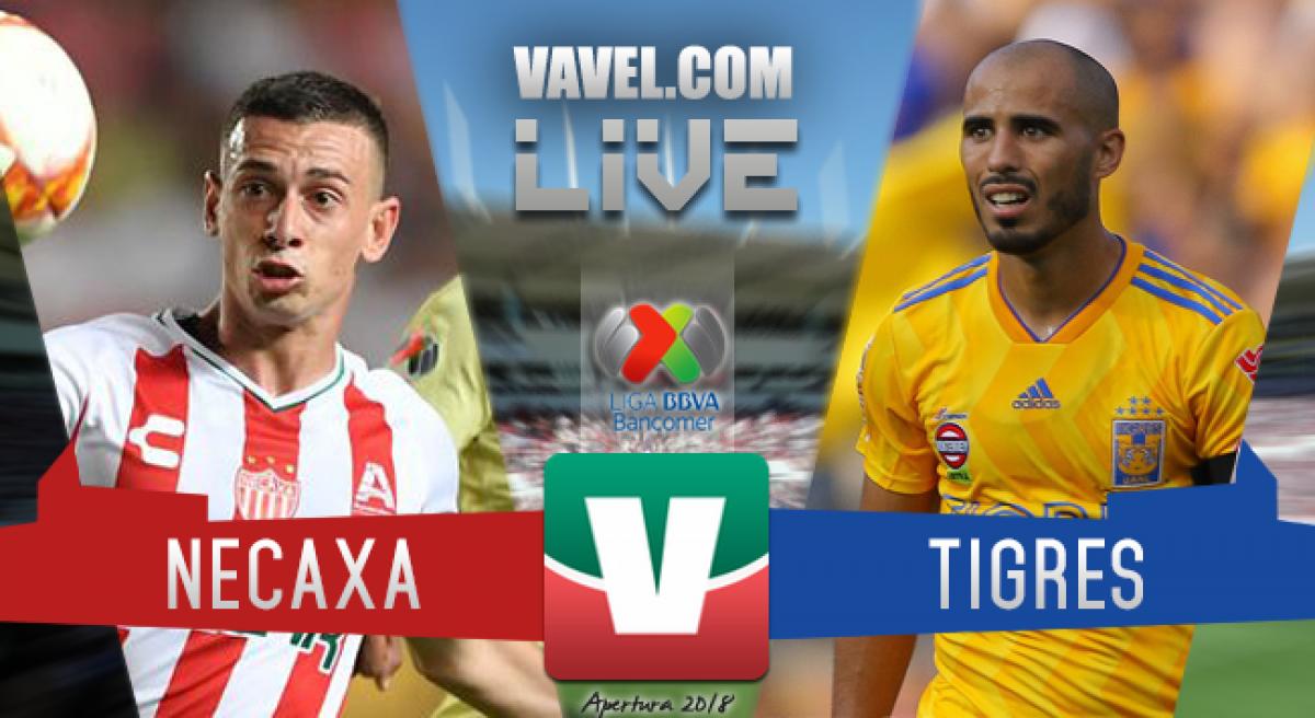Resumen Necaxa 1-1 Tigres en Liga MX 2018