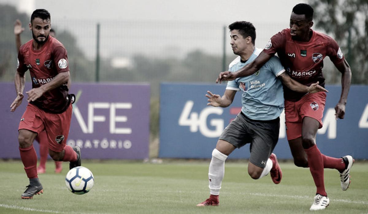 Fluminense goleia Maricá FC em jogo treino no CT Pedro Antônio